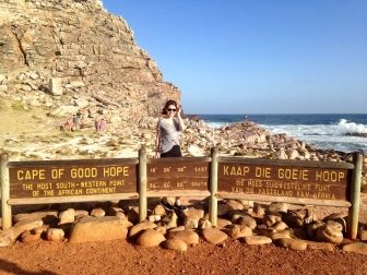 Behind me is the Atlantic Ocean!