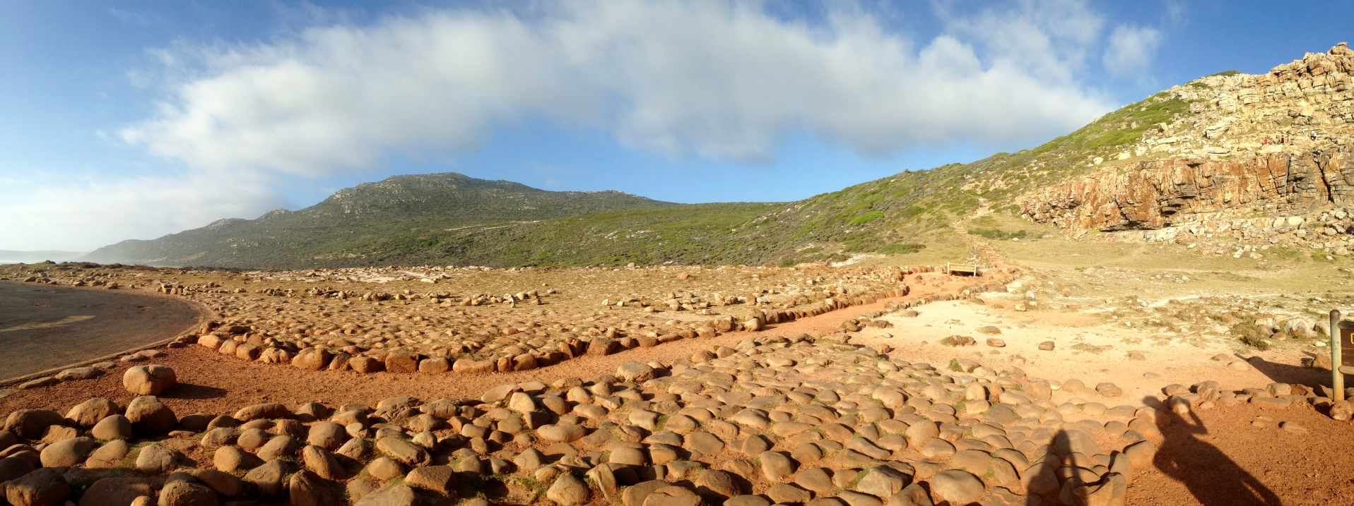 Another view of the Cape of Good Hope.